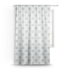 Love You Forever Sheer Curtains (Personalized)