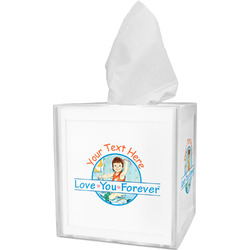 Love You Forever Tissue Box Cover w/ Name or Text
