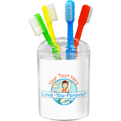 Love You Forever Toothbrush Holder (Personalized)