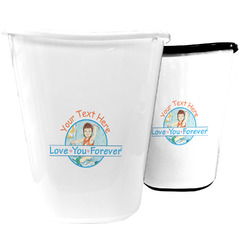 Love You Forever Waste Basket (Personalized)