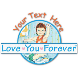 Love You Forever Graphic Decal - Custom Sizes (Personalized)