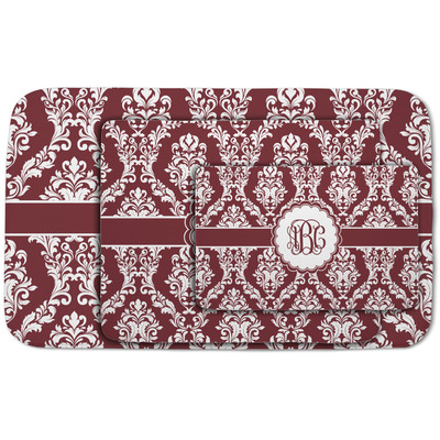 Maroon & White Area Rug (Personalized)