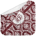 Maroon & White Baby Hooded Towel (Personalized)