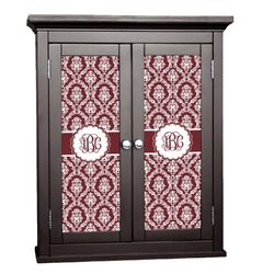 Maroon & White Cabinet Decal - Custom Size (Personalized)