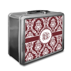 Maroon & White Lunch Box (Personalized)