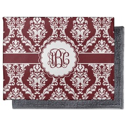 Maroon & White Microfiber Screen Cleaner (Personalized)