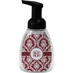 Maroon & White Foam Soap Dispenser (Personalized)