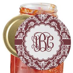 Maroon & White Jar Opener (Personalized)