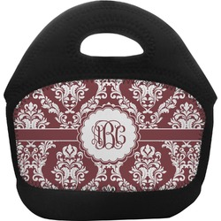 Maroon & White Toddler Lunch Tote (Personalized)