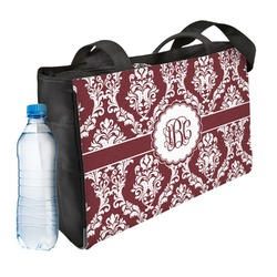 Maroon & White Ladies Workout Bag (Personalized)