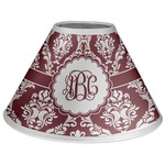 Maroon & White Coolie Lamp Shade (Personalized)