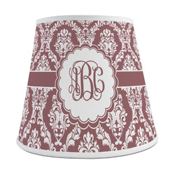 Maroon & White Empire Lamp Shade (Personalized)