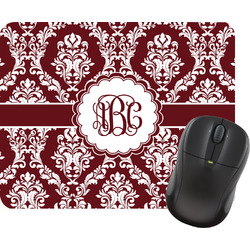 Maroon & White Mouse Pad (Personalized)