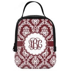 Maroon & White Neoprene Lunch Tote (Personalized)