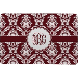 Maroon & White Comfort Mat (Personalized)