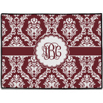 Maroon & White Door Mat (Personalized)