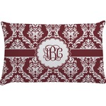 Maroon & White Pillow Case (Personalized)