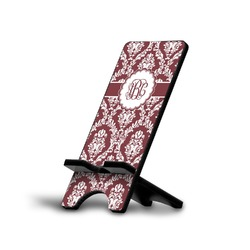 Maroon & White Phone Stand (Personalized)