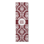 Maroon & White Runner Rug - 3.66'x8' (Personalized)