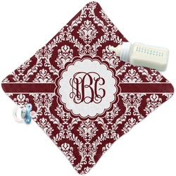 Maroon & White Security Blanket (Personalized)