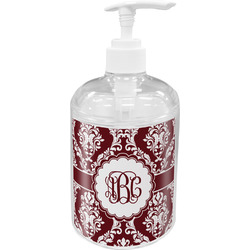 Maroon & White Soap / Lotion Dispenser (Personalized)