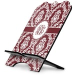 Maroon & White Stylized Tablet Stand (Personalized)