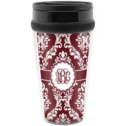 Maroon & White Travel Mug (Personalized)