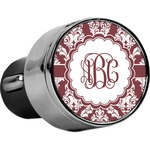 Maroon & White USB Car Charger (Personalized)