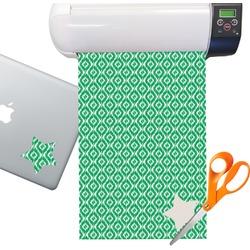 Ikat Pattern Sticker Vinyl Sheet (Permanent)