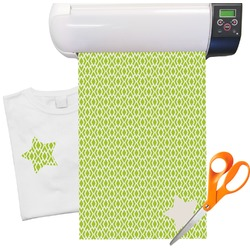 Geometric Diamond Pattern Heat Transfer Vinyl Sheet (12