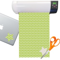 Geometric Diamond Pattern Sticker Vinyl Sheet (Permanent)