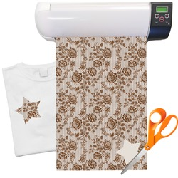 "Lace Pattern Heat Transfer Vinyl Sheet (12""x18"")"