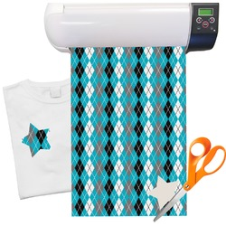 Argyle Pattern Heat Transfer Vinyl Sheet (12