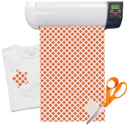 "Diamond Pattern Heat Transfer Vinyl Sheet (12""x18"")"