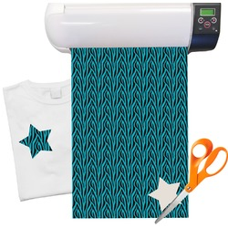 "Zebra Pattern Heat Transfer Vinyl Sheet (12""x18"")"