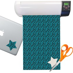 Zebra Pattern Sticker Vinyl Sheet (Permanent)