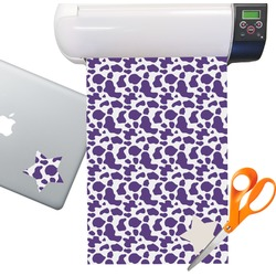 Cow Pattern Sticker Vinyl Sheet (Permanent)