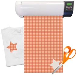 "Gingham Pattern Heat Transfer Vinyl Sheet (12""x18"")"