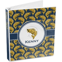 Fish 3-Ring Binder (Personalized)
