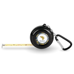 Fish Pocket Tape Measure - 6 Ft w/ Carabiner Clip (Personalized)