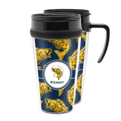 Fish Acrylic Travel Mugs (Personalized)
