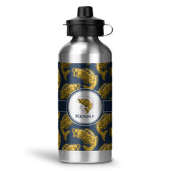 Fish Water Bottle - Aluminum - 20 oz (Personalized)