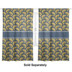 "Fish Curtains - 40""x84"" Panels - Unlined (2 Panels Per Set) (Personalized)"