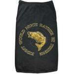 Fish Black Pet Shirt (Personalized)