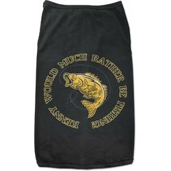Fish Black Pet Shirt - Multiple Sizes (Personalized)