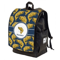 Fish Backpack w/ Front Flap  (Personalized)
