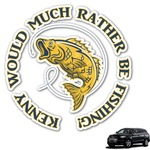 Fish Graphic Car Decal (Personalized)