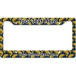 Fish License Plate Frame (Personalized)