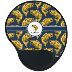 Fish Mouse Pad with Wrist Support