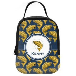 Fish Neoprene Lunch Tote (Personalized)